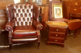Chesterfield Ohrensessel